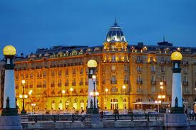 The Hotel Of Hotels In San Sebastian Decorated Belle Epoque Style Maria Cristina Stands As S Grandest
